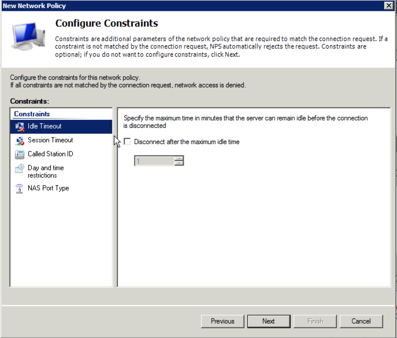 Configuring Microsoft NPS for Aerohive 802 1X Authentication | In